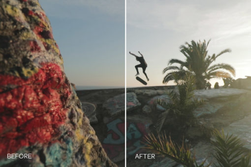 skateboard video luts