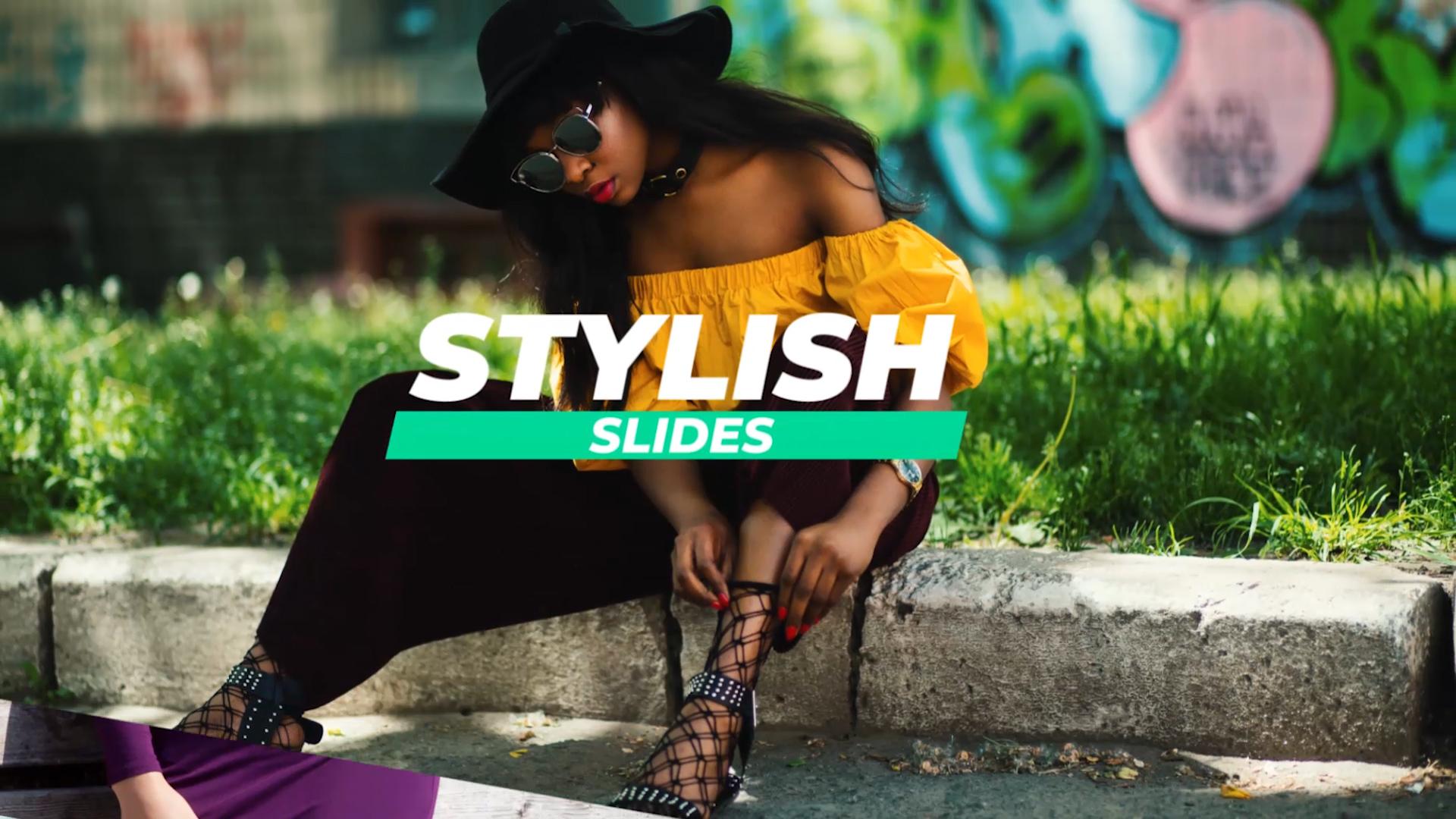 stylish premiere pro template