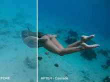 mobile presets for ocean photos