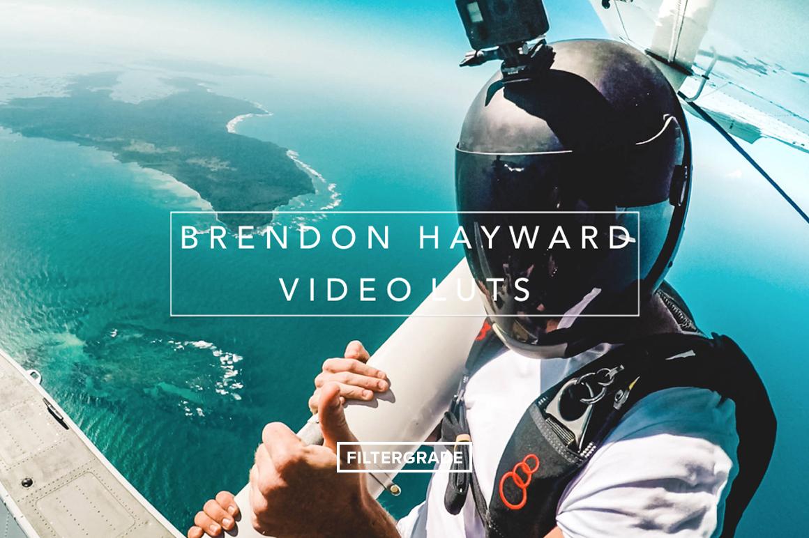 Brendon-Hayward-Video-LUTs-FilterGrade