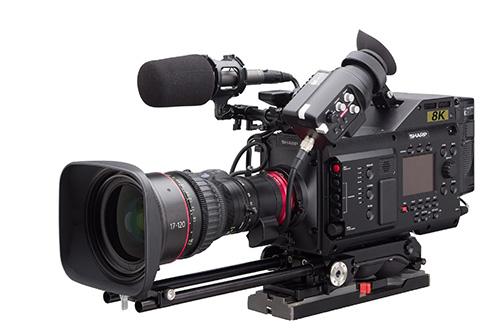 sharp 8k camera for video