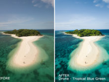 Drone-Tropical-Blue-Green