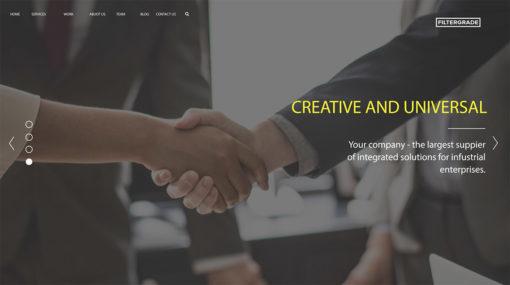 creative agency ae template