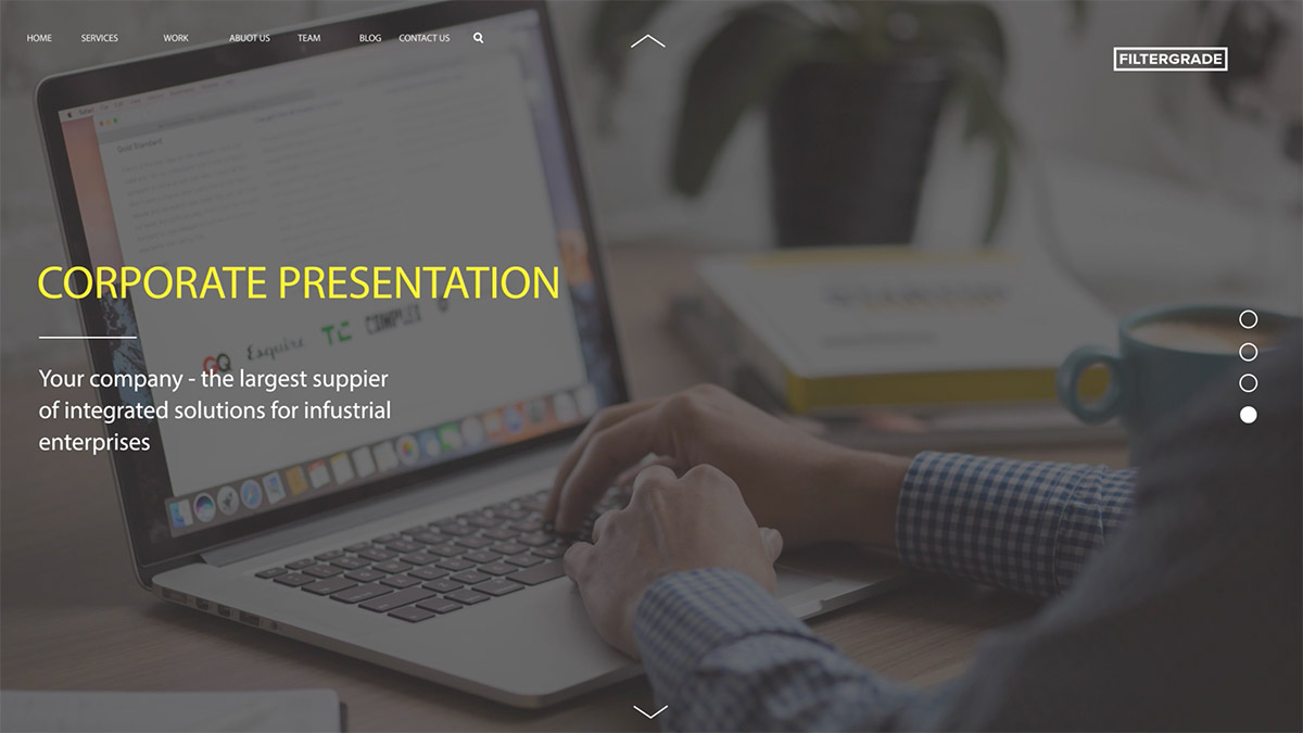 corporate presentation ae template