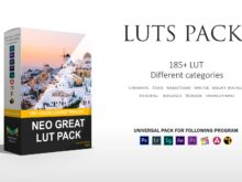 3Motional Neo Great PRO LUTs Bundle