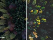drone matte preset