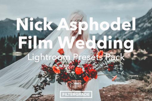 Nick Asphodel Film Wedding Lightroom Presets Pack