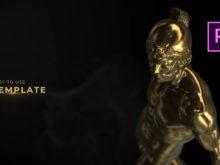 premiere pro template luxury titles