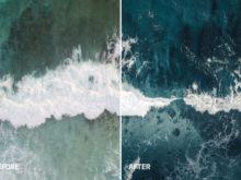 dark ocean photo filter, kevin krautgartner