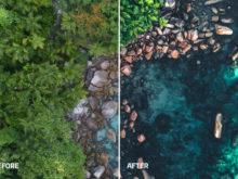 drone travel preset