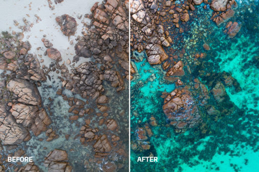 oceanic colors photo editing