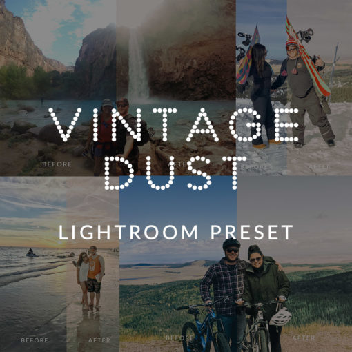 Vintage Dust Lightroom Preset