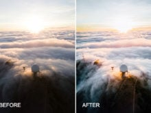 aerial photography presets