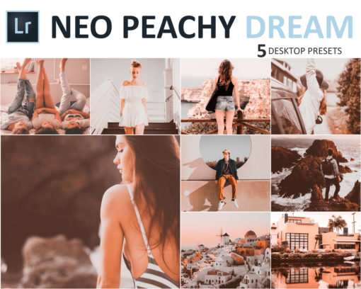 Neo Peachy Dream Desktop LR Presets