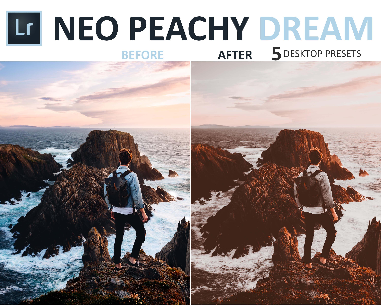 travel presets neo peachy dream