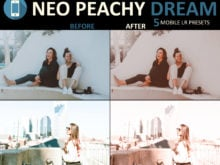 neo peachy dream for mobile