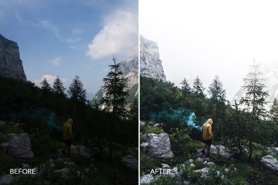 landscape hiker presets
