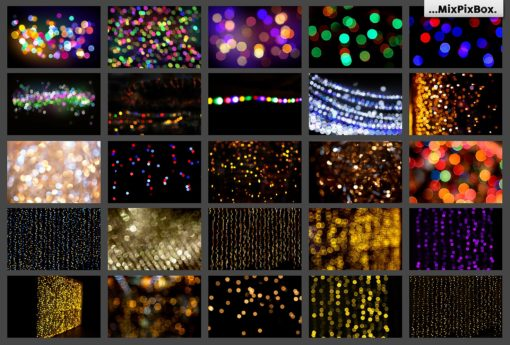 100 bokeh bundle overlays on FilterGrade