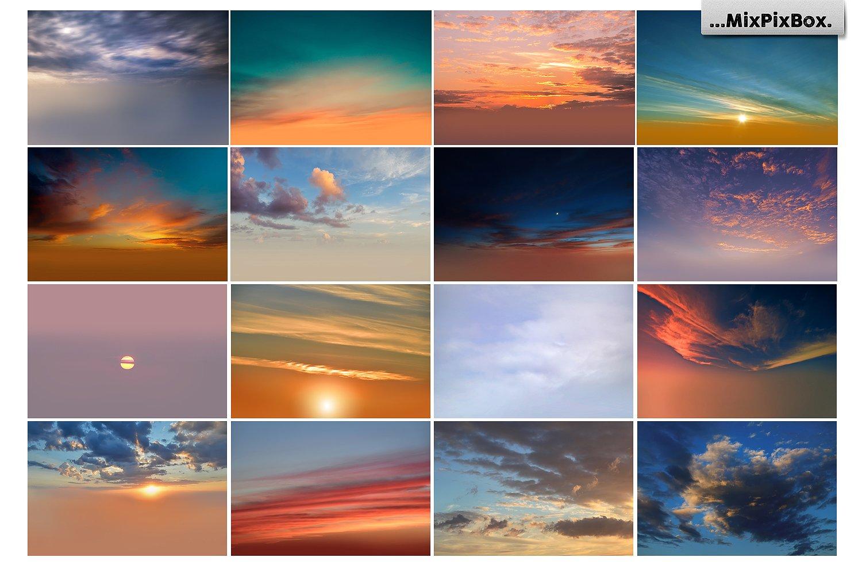 skies background bundle