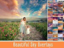 beautiful sky overlays mixpixbox