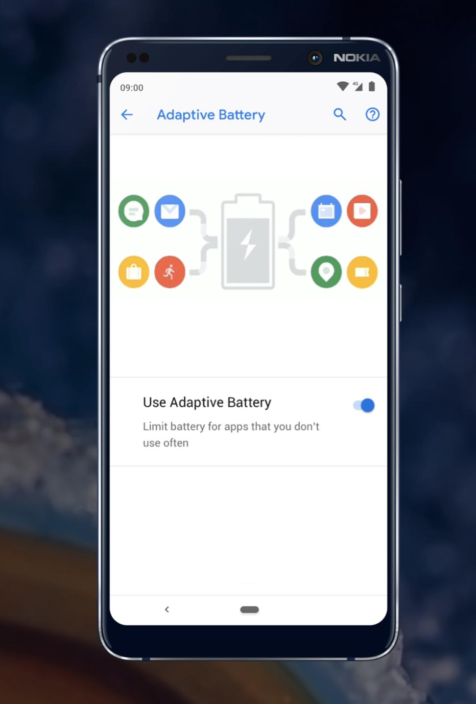 adaptive battery nokia 9 pureview
