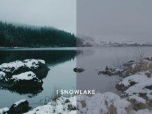 snowflake lut