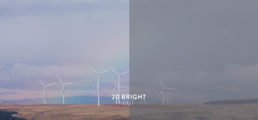 bright and colorful luts, bounce color
