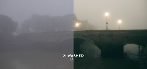 washed out luts pack