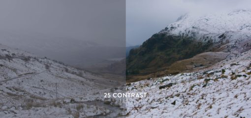 contrast winter luts