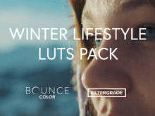 Bounce Color Winter Lifestyle LUTs Pack