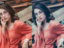 pastel portrait lightroom edit
