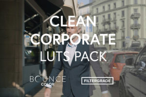 Bounce Color Clean Corporate LUTs Pack