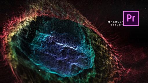 Deep Space Titles Premiere Pro Template