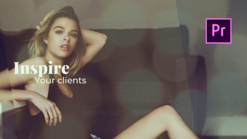 Elegant Slideshow Premiere Pro Template