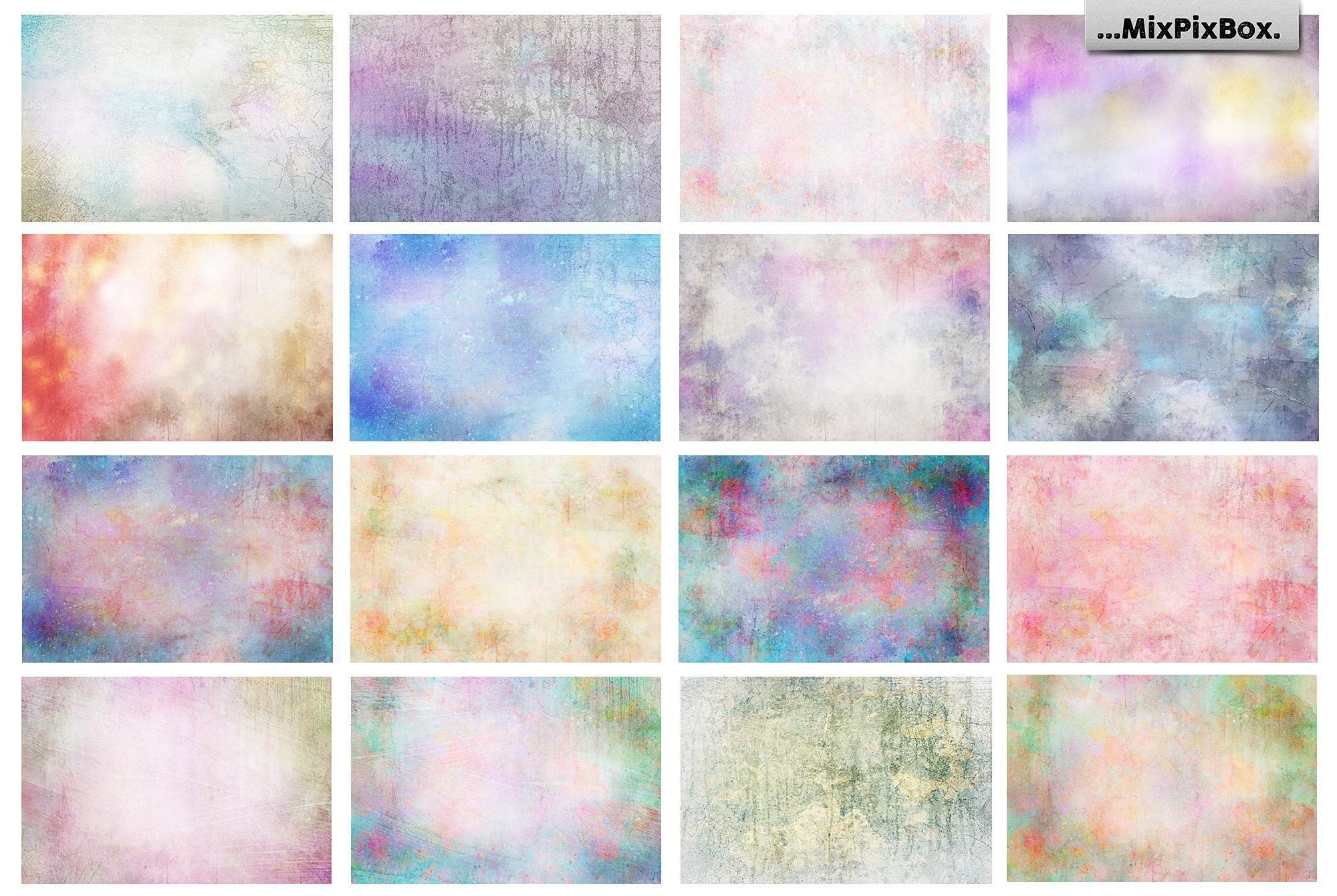 pastel photo overlays bundle