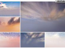 dramatic sky bg's and photo overlays