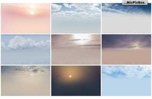 dramatic sky textures