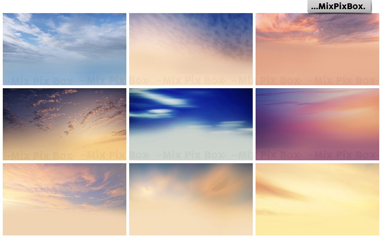 sky overlays bundle mixpixbox