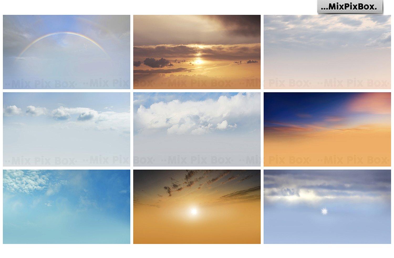 sky photo overlays bundle by MixPixBox