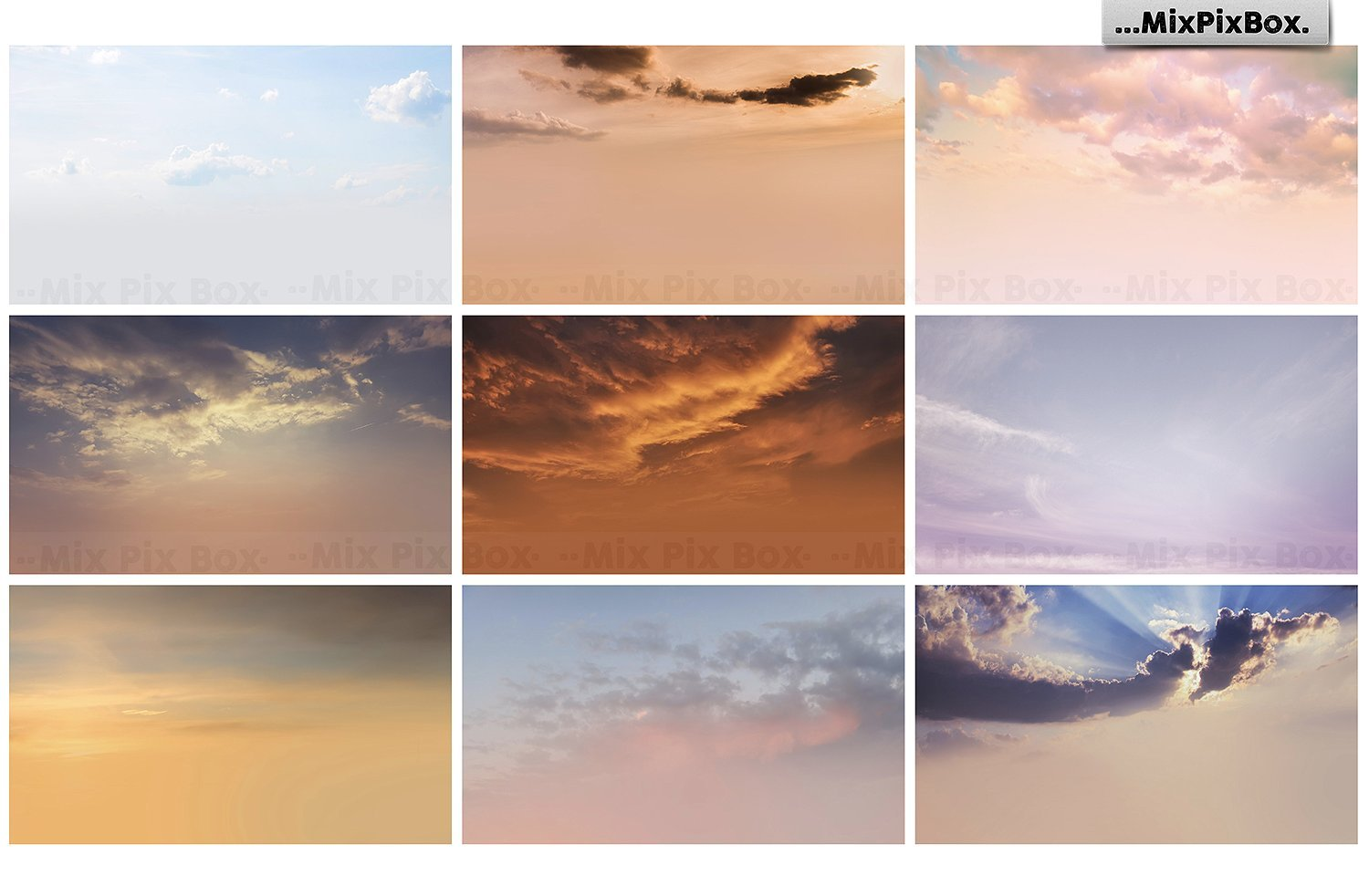 sky photo overlays pack