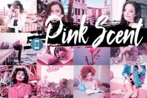 pink scent mobile presets