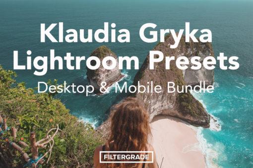 Klaudia Gryka Desktop & Mobile Lightroom Presets