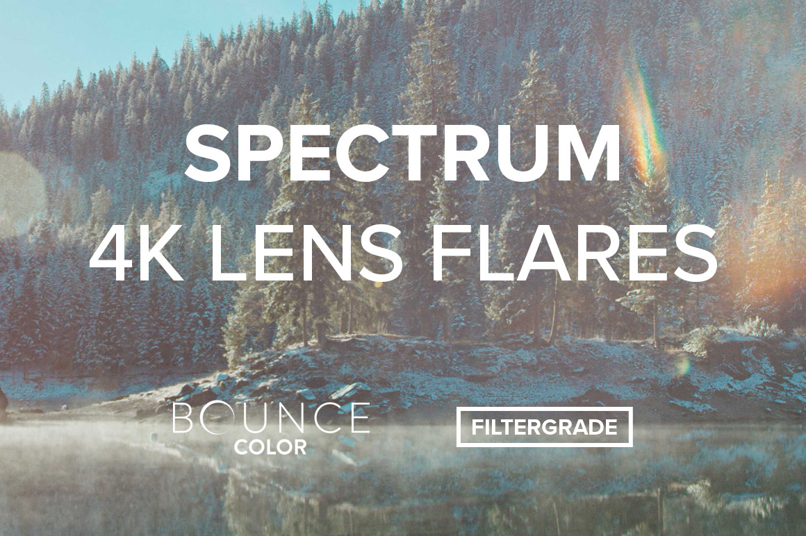 SPECTRUM 4K Lens Flares from Bounce Color