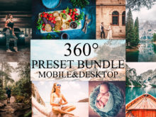 mybeautifulpresets bundle mobile and desktop