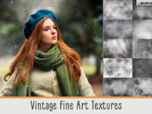 vintage fine art textures