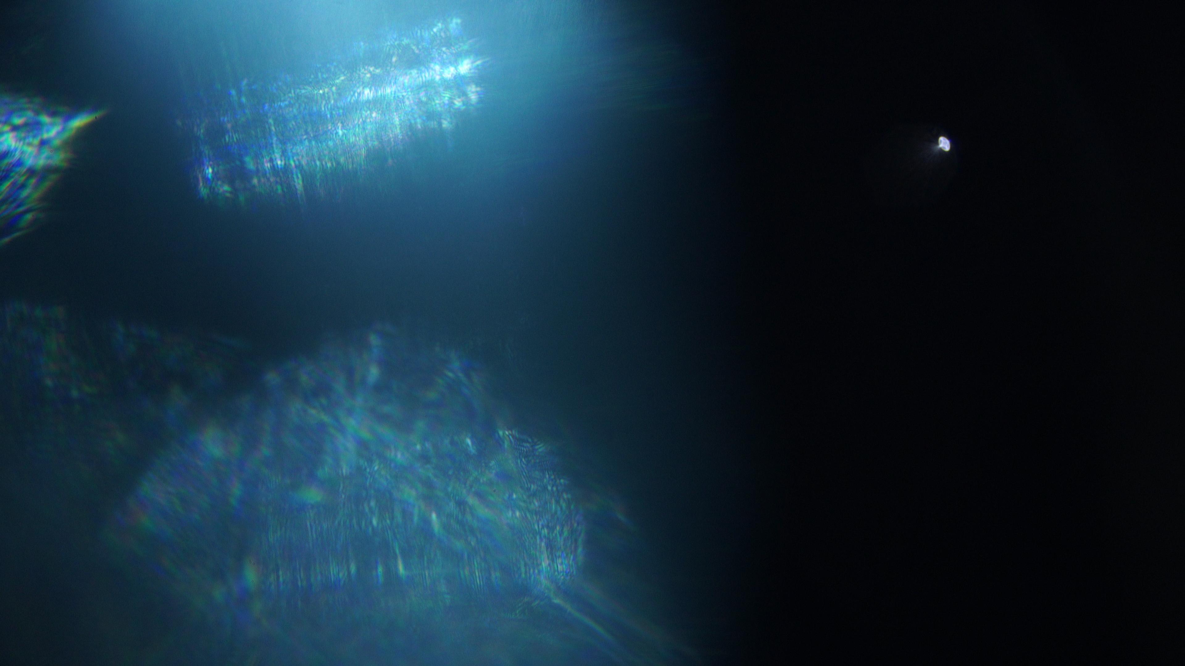 4K lens flare video