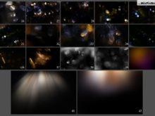 sun flares photo overlays