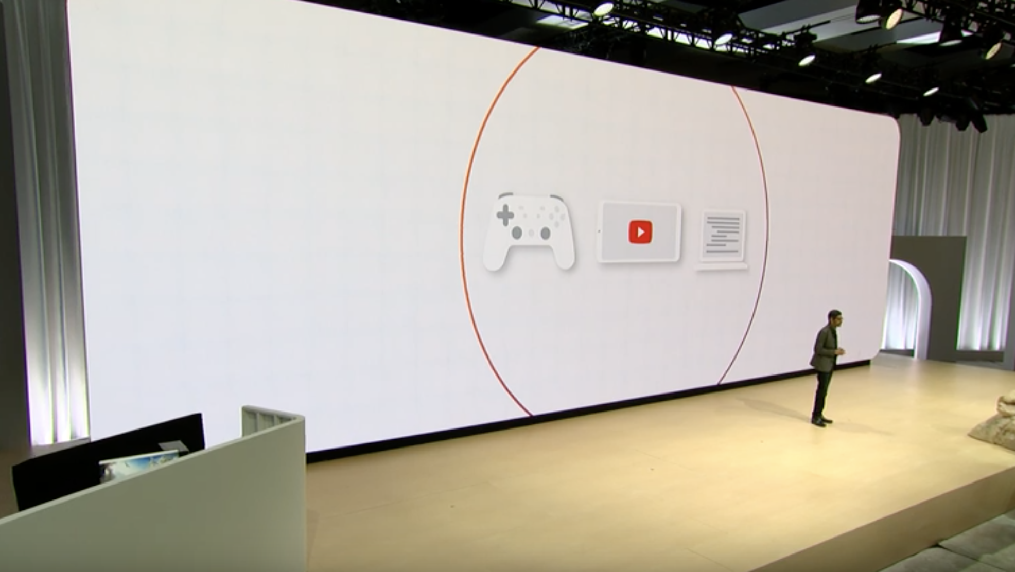 google gaming platform system announcement