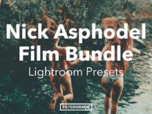 Nick Asphodel Film Lightroom Presets Bundle