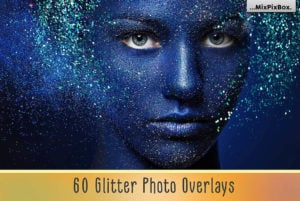 Glitter Photo Overlays Bundle by MixPixBox